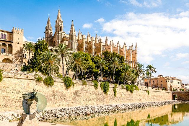 Die Kathedrale auf Palma de Mallorca