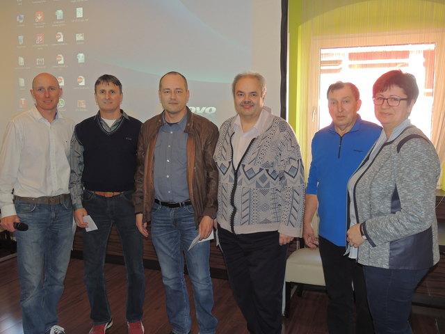 GR Gerd Schinnerl, Breitkopf, Lindner, Nitsche, Vorsitzender Karl Schinnerl, Bundesrätin Rosa Ecker