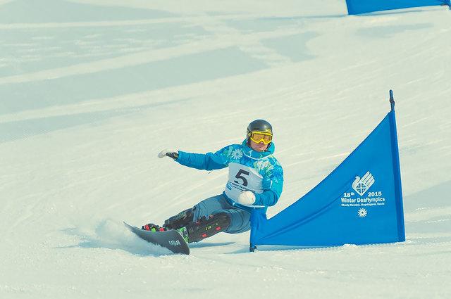 Blech bei den Deaflympics 2015 in Kuusamo. Den vierten Rang im Gehörlosen-Snowboard hat der Gössendorfer noch nicht verdaut. 2019 bei Olympia in Armenien will er endlich Gold schürfen.