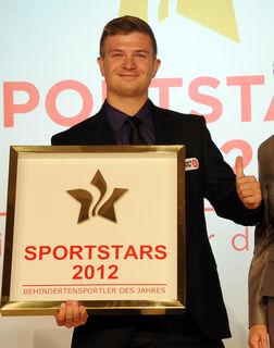 In Wien wurde Raphael Petr 2012 zum Sportler des Jahres gewählt.