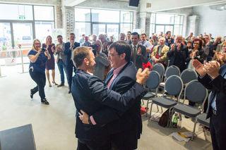 100 Prozent Zustimmung für Bürgermeisterkandidat Bernhard Auinger gab es bei der SPÖ-Bezirksparteikonferenz am Samstag.
