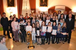Die Schüler der Musikschule Tulln waren beim Landeswettbewerb prima la musica 2017 hervorragend.