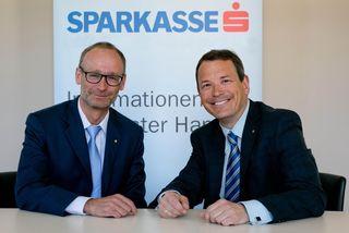 Generaldirektor Christoph Paulweber und Vorstandsdirektor Markus Sattel