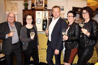 Im Rahmen der Eurogast Interex-Gastromesse wurde auch die zehnjährige Partnerschaft mit Villa Sandi gefeiert.