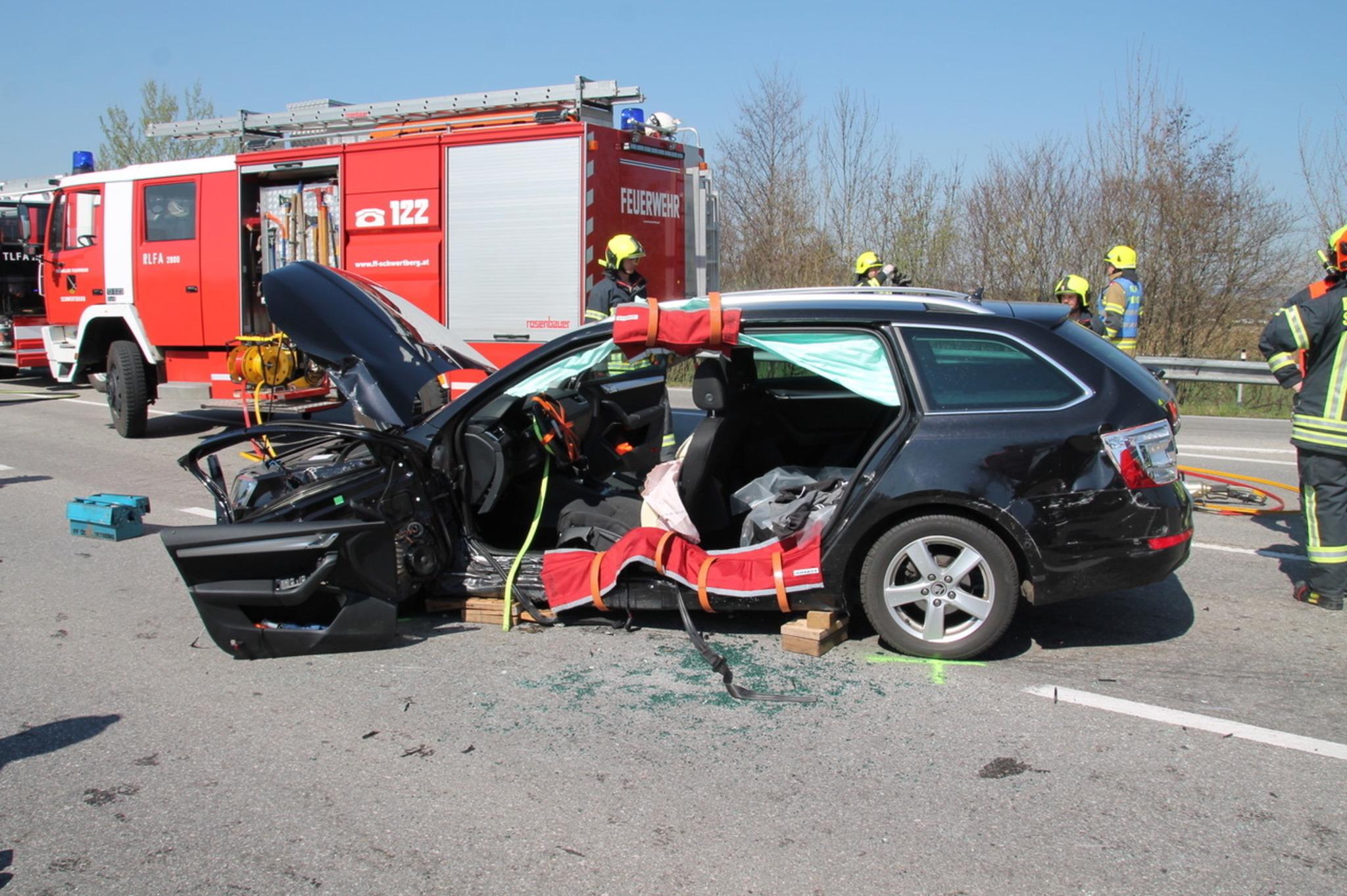 Schwerer Unfall B3 Heute