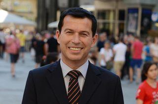 Stefan Ebner ist wieder als Bezirksrat aktiv.
