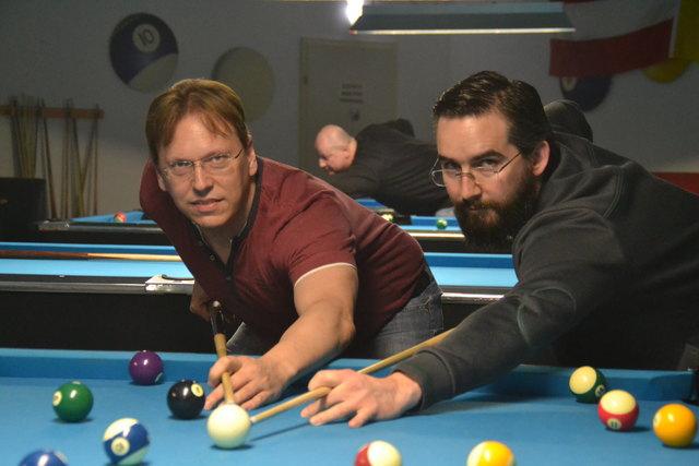 Alfred Bitriol (l.) und David Kneisz vom BSV Pegaus Eisenstadt sind seit 2013 Regionauten.
