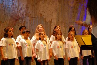 VS ST. Nikola im Brucknerhaus beim Landes-Jugendsingen 2017