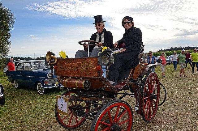 Landl-Rallye: Oldtimer-Freunde treffen sich wieder in