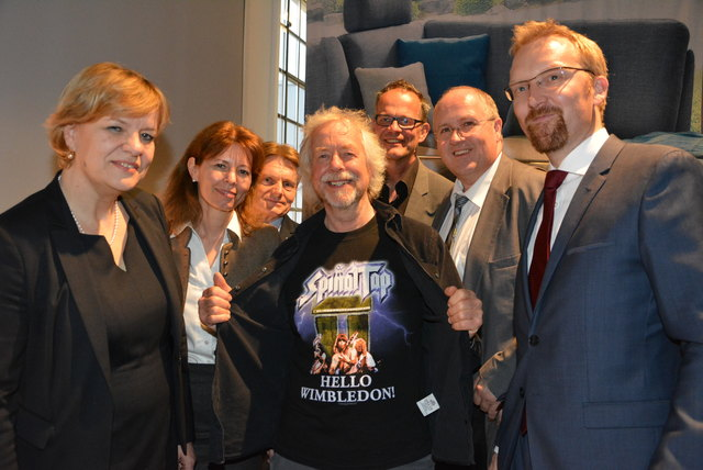 Barbara Schwarz, Verena Sonnleitner, Manfred Meixner, Julian Richards, Hannes Weitschacher, Alfred Pohl und Peter Fritz