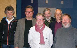 V. l. n. r: Klaus Heidegger, Alfred Natterer, Konrad Junker, Michael Rittinger, Franz Hainzl, Wolfgang Förg