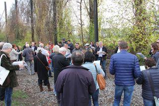 Rund 70 Menschen haben am Ideenspaziergang teilgenommen.