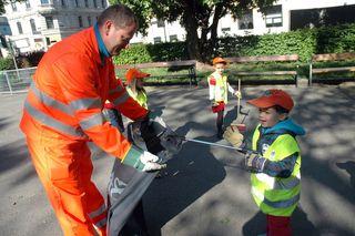 Wien räumt auf: Ab 24. April wird die Stadt gründlich für den Sommer fit gemacht.