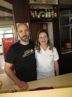 Laszlo und Angela Balazsic
