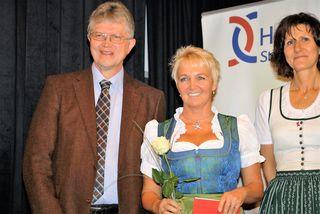 Im November überreichte Karl Brodschneider die Zertifikate an das Hospizteam, vor Ostern wurde er zum Hospizpaten ernannt.