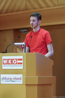 Im Gold-Team: Jakob Kroboth (BORG Güssing)