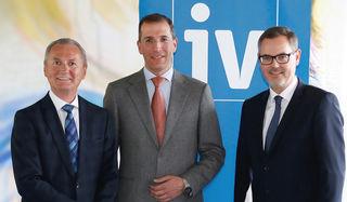 v.l.n.r: Eugen Stark, Präsident Christoph Swarovski, Josef Lettenbichler