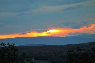 Sonnenuntergang in der Südsteiermark