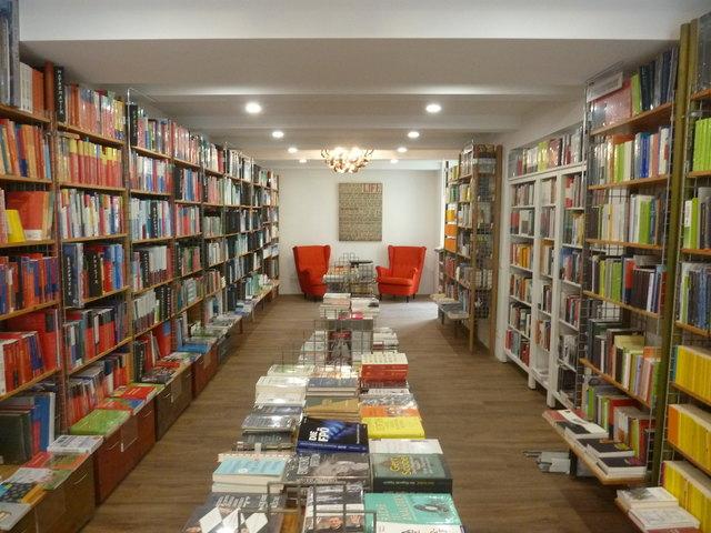 So sieht's im neuen Uni-Buchladen aus.