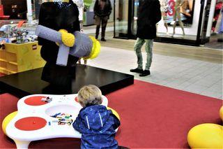 Lego-Spieltisch, Murpark, Graz