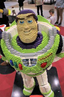Lego-Ausstellung, Graz, Murpark, 3D-Modell, Toy Story, Buzz