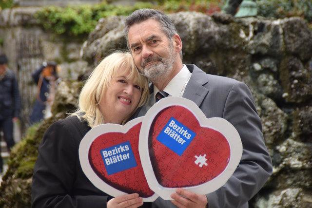 Emma und Franz Sommeregger haben sich auf meinbezirk.at kennengelernt und sind seit fünf Jahren verheiratet.