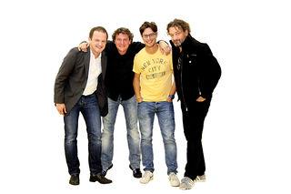 """Die vier Stimmenimitatoren namens """"Comedy-Hirten"""" kommen am 29. und 30. April nach Deutsch Kaltenbrunn."""