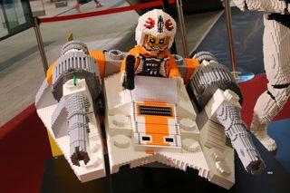 Lego-Ausstellung, 3D-Modell, Graz, Murpark