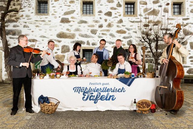 Mühlviertlerisch Tafeln vereint Kulinarik und Kultur.