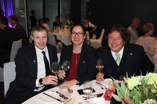 IBK-LAND: Thomas Mayr, Bruni Fröschl, Edi Fröschl, von der Fröschl AG