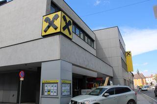 Die Raiffeisenbank Lipizzanerheimat in Voitsberg war Schauplatz des Unfalls.