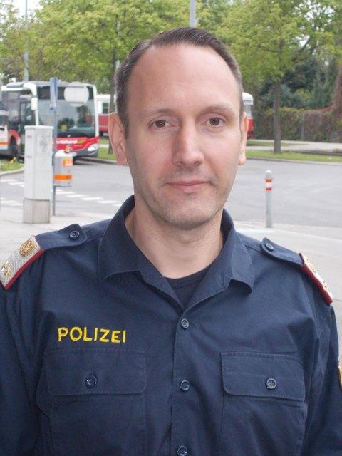 Wurde zum Lebensretter: Abteilungsinspektor Markus R.