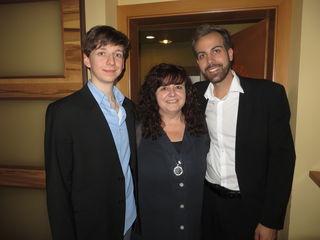 Volker Lang, Ulrike Düh und Philipp Schulter