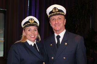 SCHWAZ: Daniela Neuhauser und Albert Bichler von der Achensee Schifffahrt