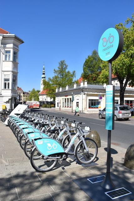 Nextbike: Ab 28. April startet das neue Fahrrad-Verleihsystem, das mit zehn Stationen die wichtigsten Mobilitätsknotenpunkte abdeckt