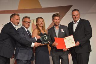 Mannschaft des Jahres: Thorsten Fink, Hans Niessl, Tanja Frank, Thomas Zajac und Hans Peter Doskozil