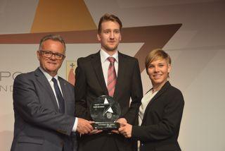 Aufsteiger des Jahres: Hans Niessl, Georg Wolf und Nicole Schmidhofer