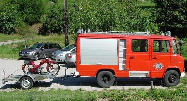 Feuerwehrfahrzeugraritäten stehen im Mittelpunkt des Tags der offenen Tür im Oldtimerclub Innsbruck.