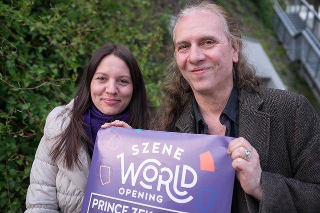 Singer/Songwriterin Ronja und Szene Wien-Geschäftsführer Martin Sobotnik holen die Weltmusik aus ihrer Nische.