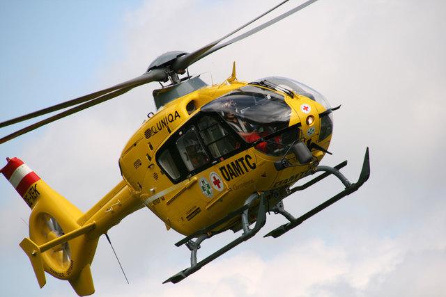 Der Verletzte wurde in das Klinikum Klagenfurt gebracht