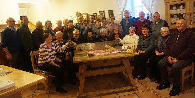 Rund 30 ehrenamtliche Mitarbeiter engagieren sich im Museumsteam