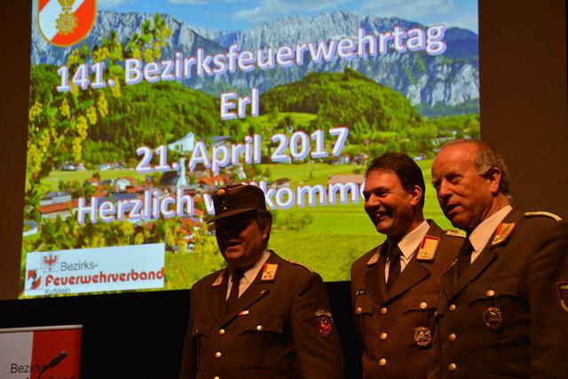 Der Bezirksfeuerwehrverband Kufstein lud zur 141. Tagung ins Festspielhaus nach Erl.