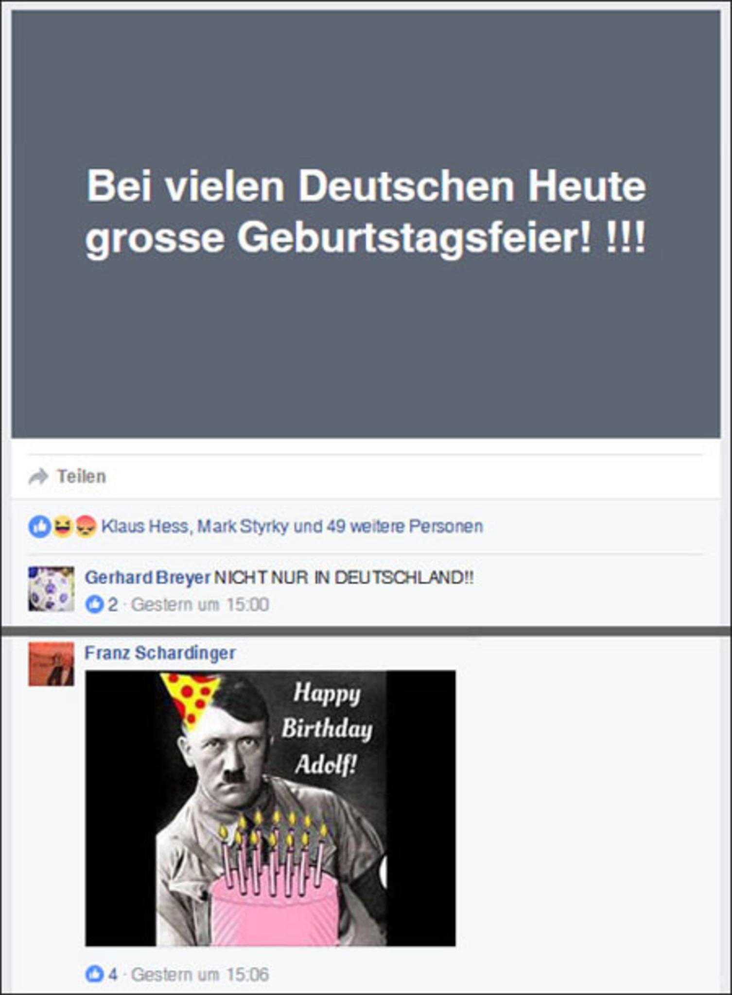 Heute wer hitler hat geburtstag Geburtstag Hitler