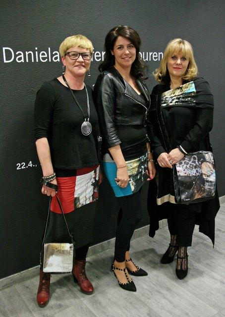 Starkes Team in Sachen art & design: Barbara Lott, Daniela Pfeifer, Sylvia Dingsleder - drei kreative Frauen, die ihr Potenzial sichtbar gelungen bündeln konnten!