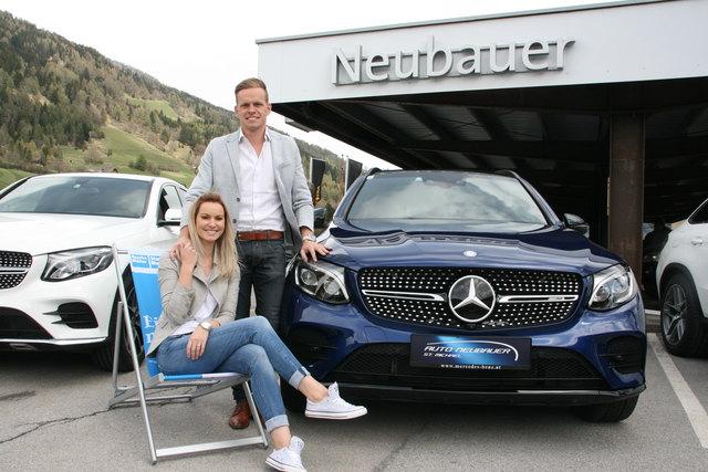Dominique Regatschnig und Hermann Neubauer jun. präsentierten aktuelle Auto-Modelle