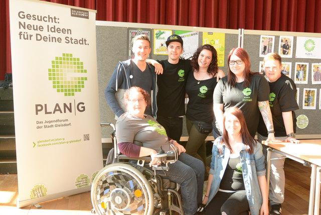 Das Team rund um Organisatorin Europa Gemeinderätin  Conny Krautsting (2.v.r.).
