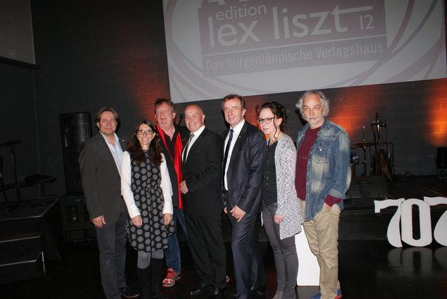 Beim Verlagsfest waren zahlreiche Ehrengäste und Partner der edition lex liszt 12 dabei.