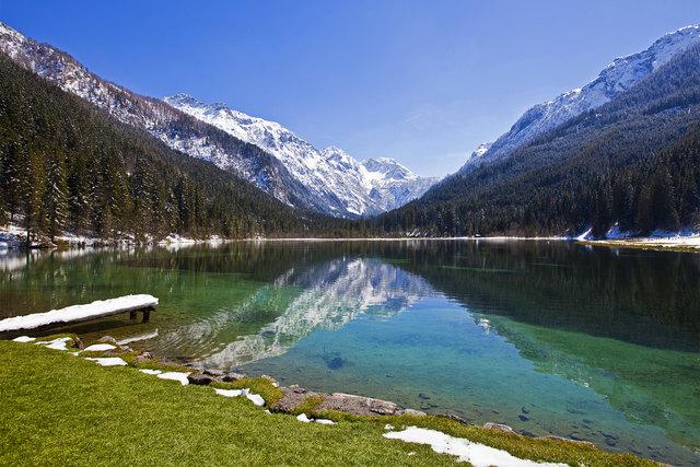 Herrliche Spiegelung am Jägersee