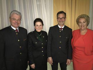 Von links: Herbert Kraut, Charlotte Klement, Roman Leitner, Verena Dunst