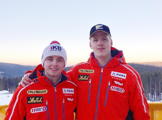 Ehemaliges Erfolgsduo Strickner und Schmid - beide beendeten ihre Karriere.